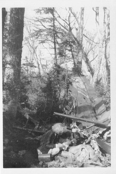 Pidgeon, Arlen & Donna, 1957 L-20 crash 2 of 5 (2)