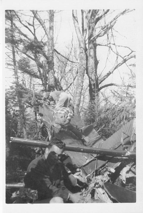 Pidgeon, Arlen & Donna, 1957 L-20 crash 5 of 5 (2)